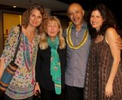 Karen Bouris, Paula Merwin, Dr. Verghese, and Cari Kapur.